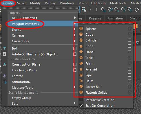 Maya LT/Maya: Geometry Modeling Basics and How to Work With