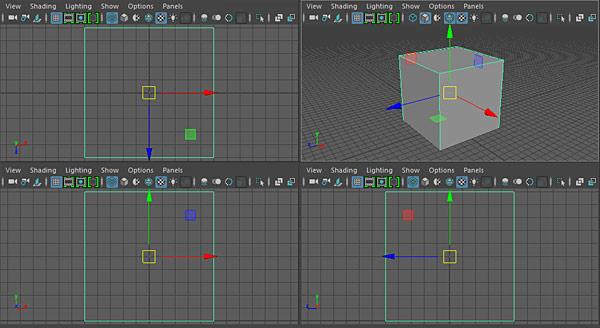 Maya LT/Maya: Snap to Grid, Edges, Vertices and Modify Pivot