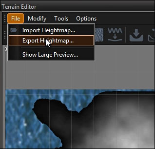 how to make a heightmap