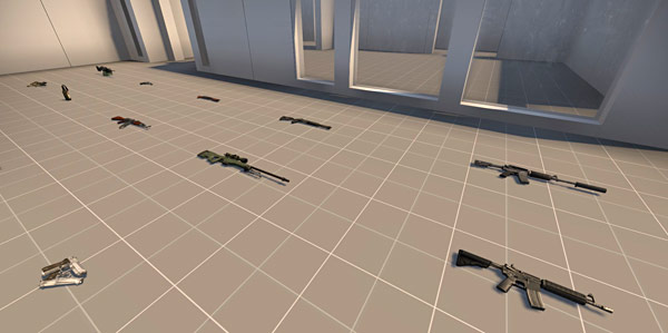 csgo how to spawn weapons