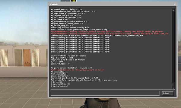 csgo sdk tutorial terminal ballistics    test    shoot  walls bullet