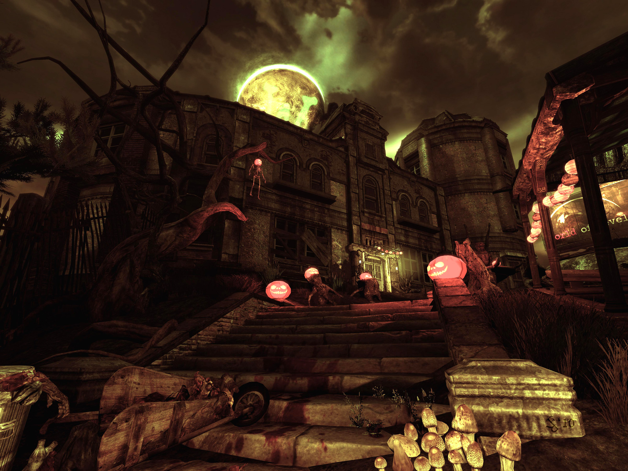 halloween level design game environment challenge  results  winners