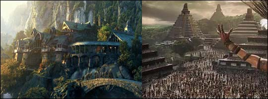 Lord of the Rings and Apocalypto