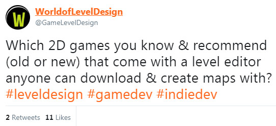 2D Games With Level Editors