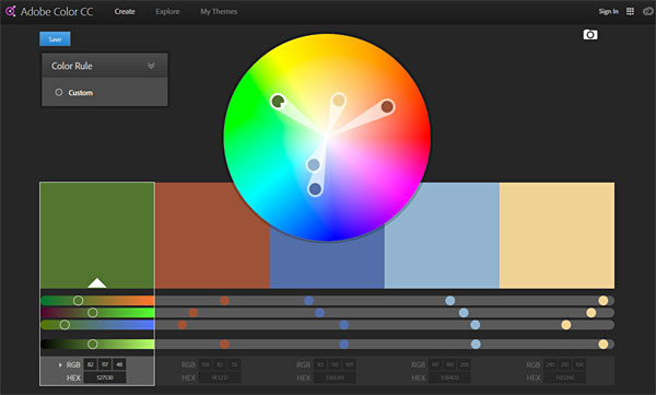 Online Adobe Color Wheel