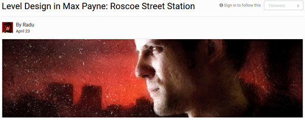 Level Design in Max Payne: Roscoe Street Station