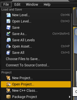 UE4: How to Convert/Update Projects to a New Unreal Engine 4