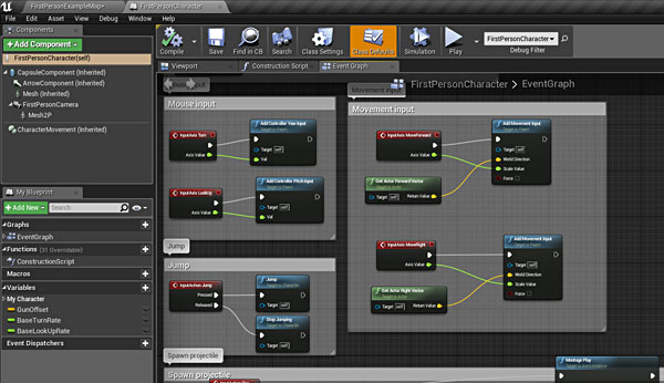 Ue4 16 principles how to start learning unreal engine 4 fourth recommended project deconstruct and re create any blueprint game template malvernweather Choice Image