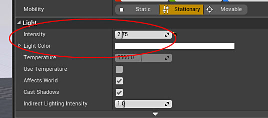 Ue4 27 step crash course to getting started with unreal engine 4 light color color of the light malvernweather Images