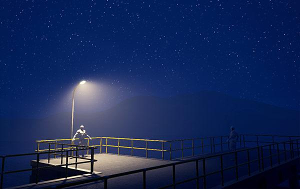 UE4 night time starry sky lighting & UE4 Tutorial: Night Time Lighting - Starry Sky with BP Sky Sphere ...