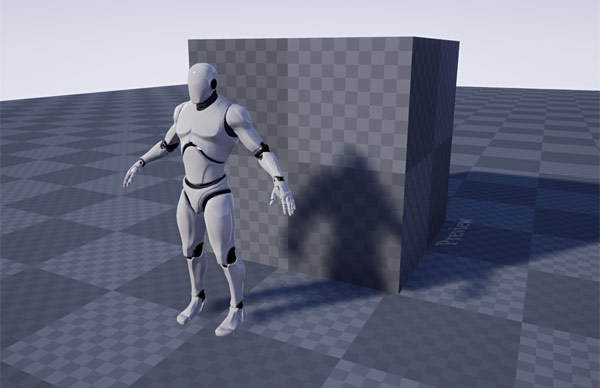 UE4 Mannequin scale reference