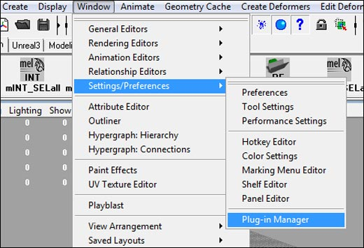 Window --> Setting/Preferences --> Plug-in Manager